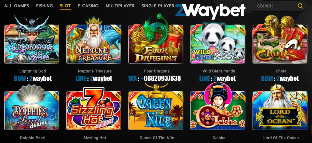 Panduan cara bermain slot joker di 2waybet