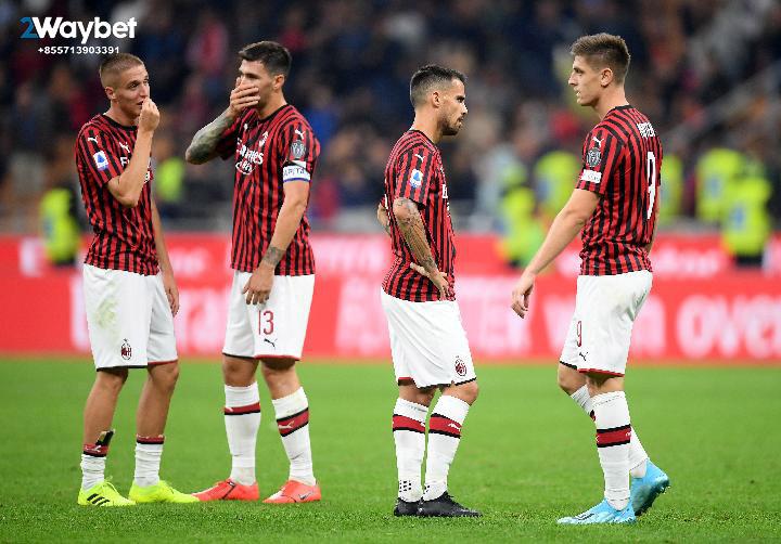 AC Milan Menelan 4 Kekalahan Beruntun