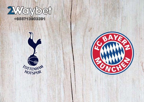 Big Match Tottenham Hotspur VS Bayern Munchen