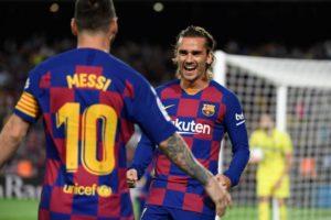 Perselisihan Antara Messi Dan Griezman Berakhir