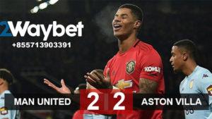 Manchester United Kembali Raih hasil Imbang